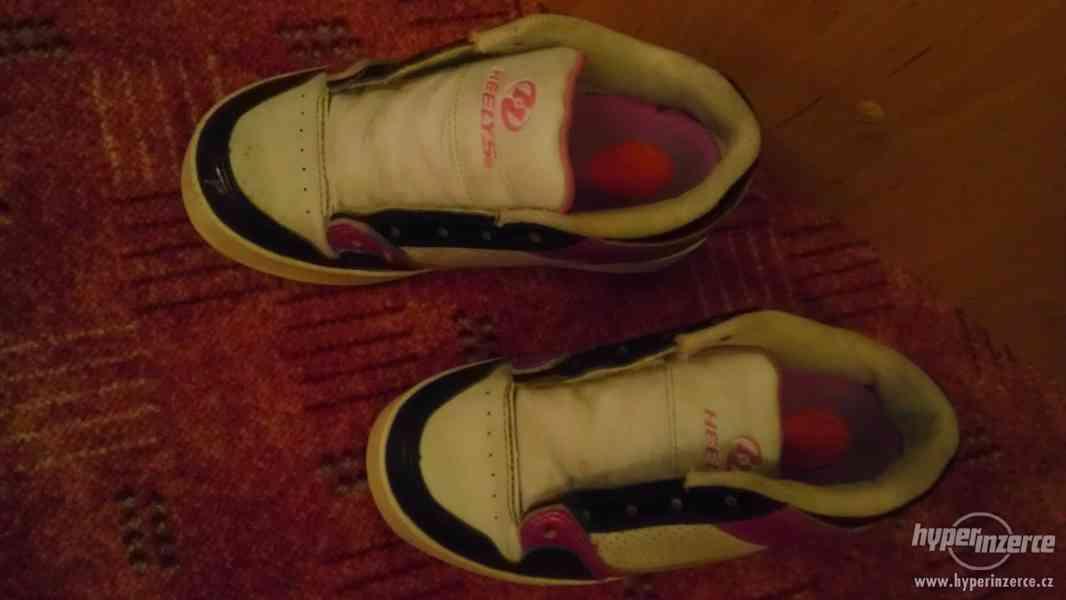 Prodám boty na kolečkách