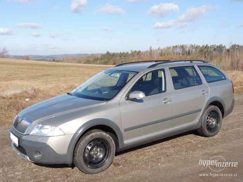 Prodám Škoda Octavia Scout