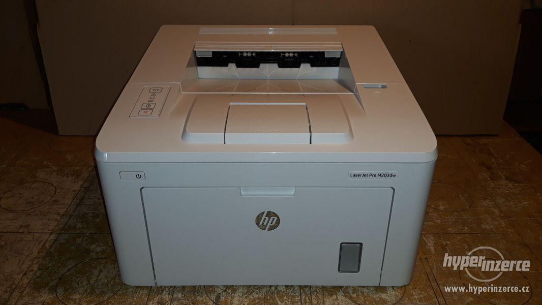 HP Laserjet M203DW | Duplex | WiFi | válec + toner 100%  - foto 1