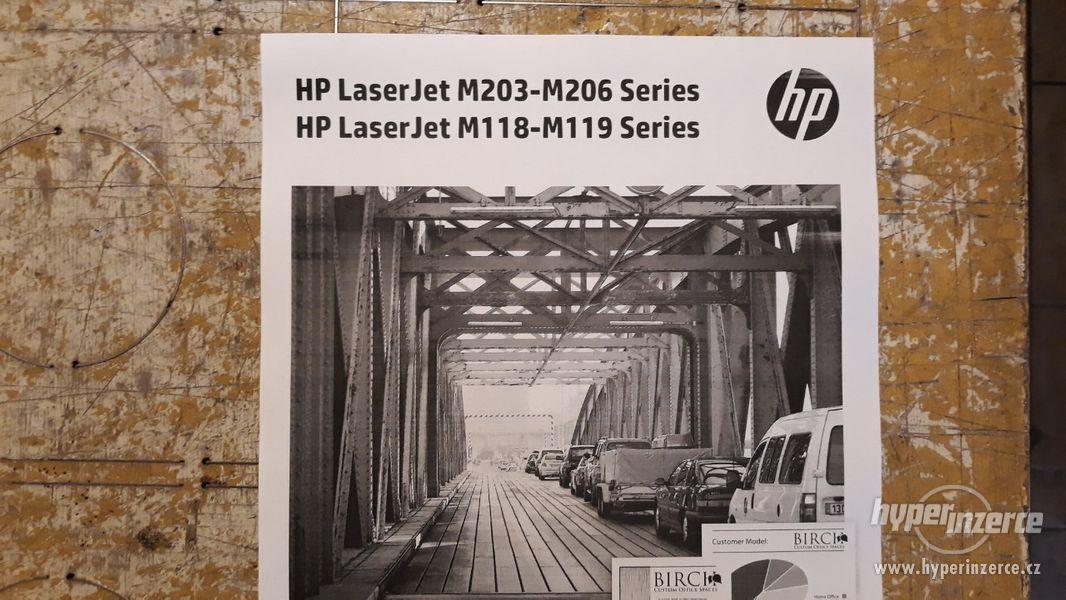 HP Laserjet M203DW | Duplex | WiFi | válec + toner 100%  - foto 3