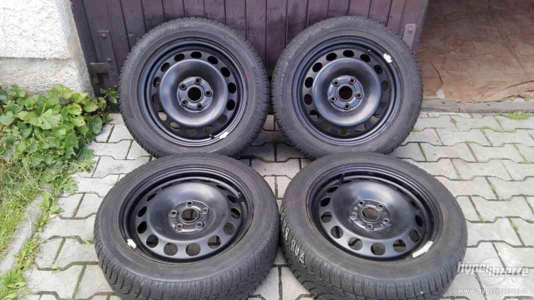 205/55R16 zimní sada pneu 5x112 6x16 ET50 passat superb