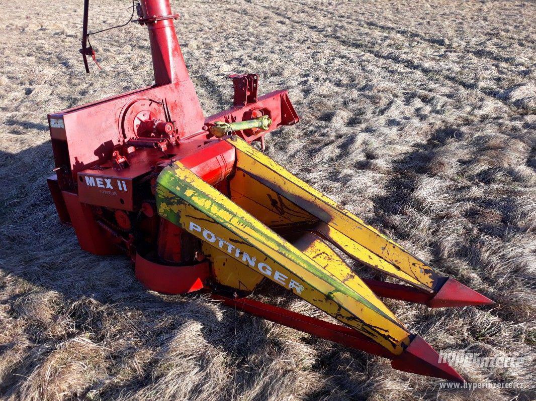 řezačku na kukuřici i jako štěpkovač POTTINGER - foto 1