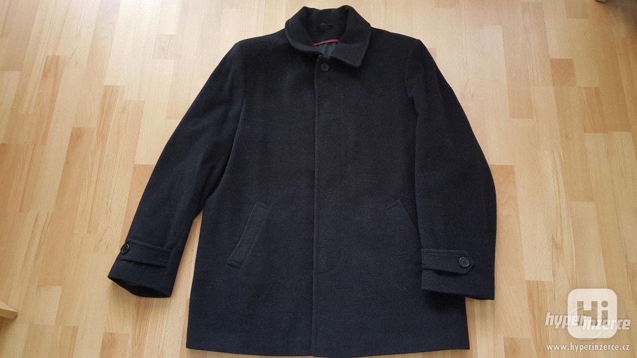 Panský černý kabát velikost 58- NOVÝ - foto 1