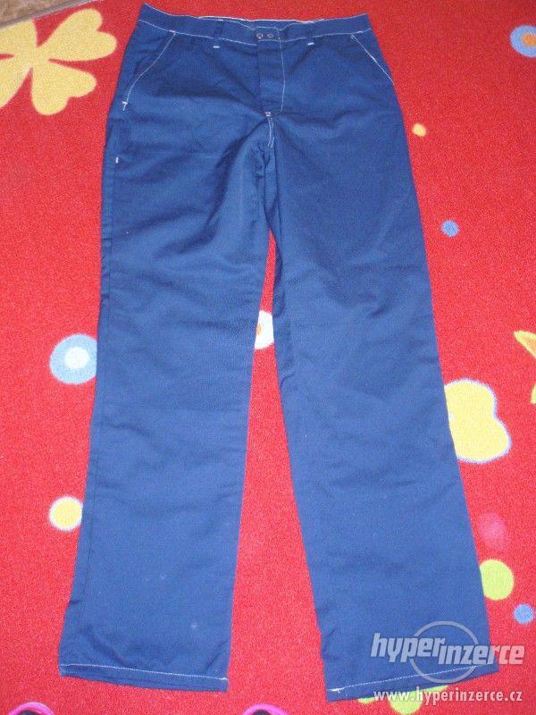 panske pracovni kalhoty vel L