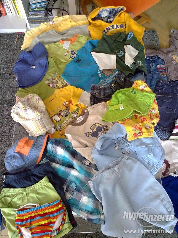 Balík chlapeckého oblečení od vel. 56 do 80