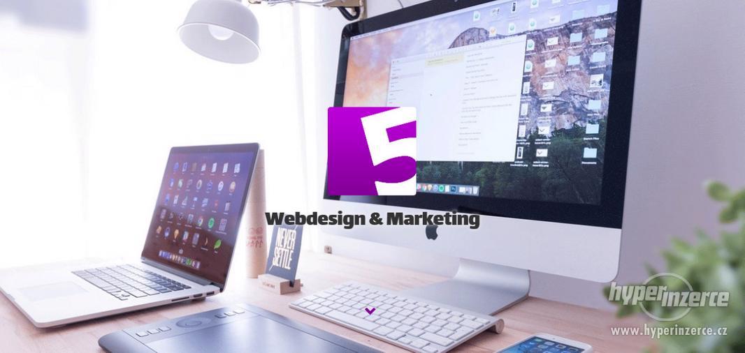 Tvorba webů a e-schopů - Levně