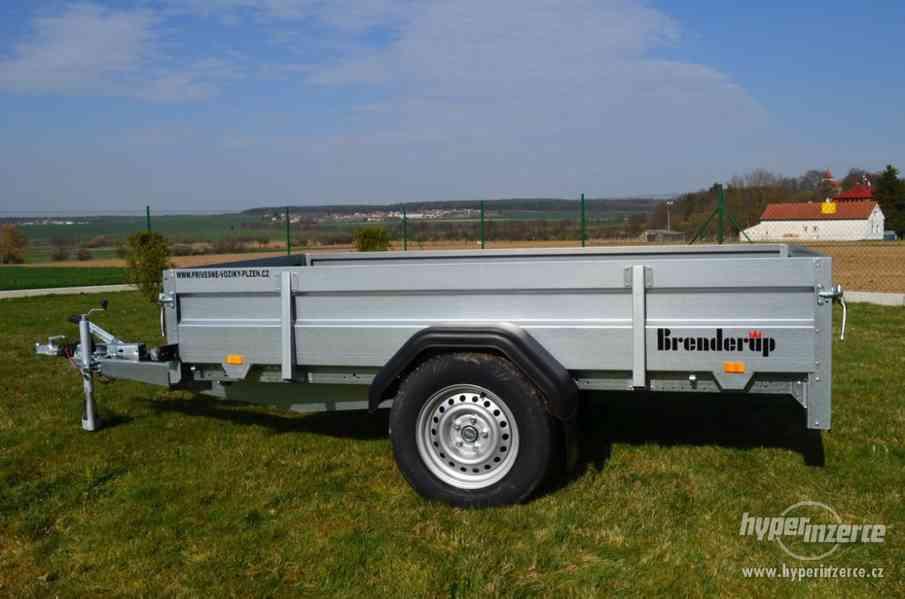 Přívěsný vozík Brenderup, 258x128, 1300kg