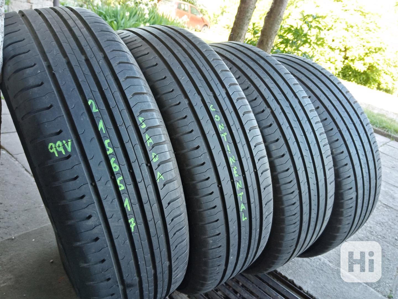 Letní pneu 4kusy 215/65/17 vzorek 90% CONTINENTAL - dobírka - foto 1