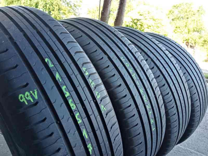 Letní pneu 4kusy 215/65/17 vzorek 90% CONTINENTAL - dobírka - foto 2