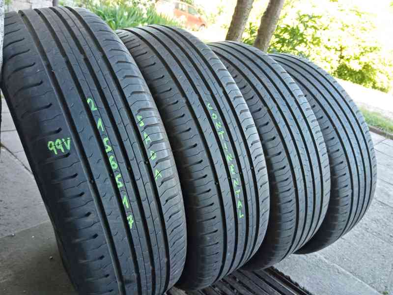 Letní pneu 4kusy 215/65/17 vzorek 90% CONTINENTAL - dobírka