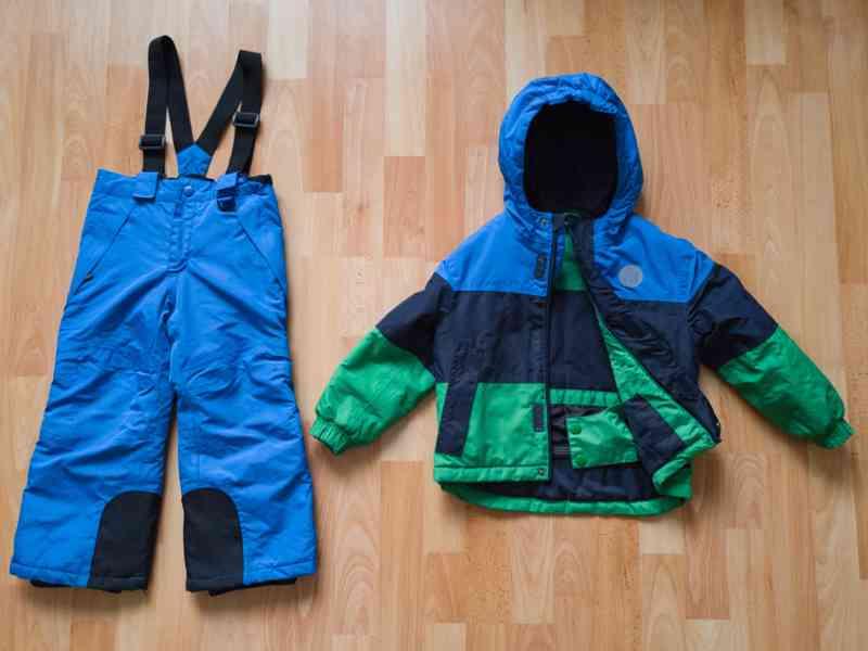 Oteplovačky a zimní bunda 98-104