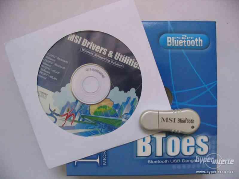 MSI BToes 2.0 BlueTooth USB - foto 2