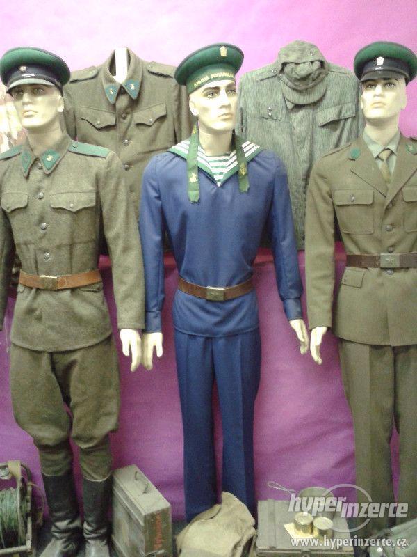 Uniforma DPS dunajská pohraniční stráž - foto 2