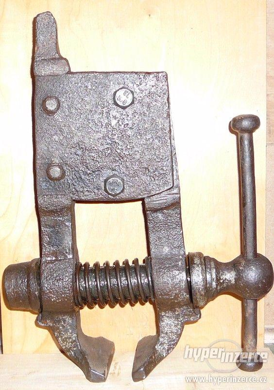kovářský svěrák
