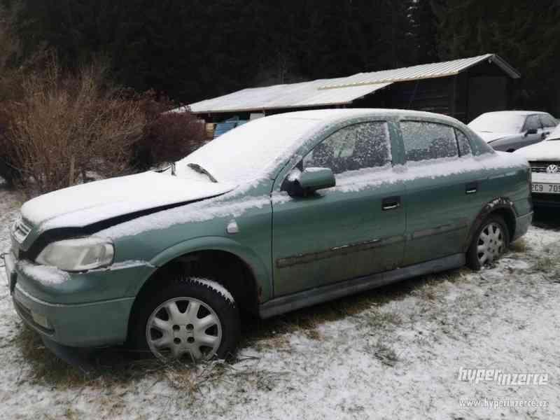 Opel Astra na náhradní díly