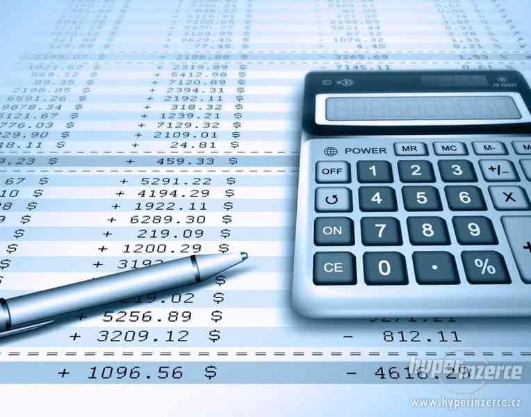 Vedení účetnictví, daňové evidence a mzdové agendy