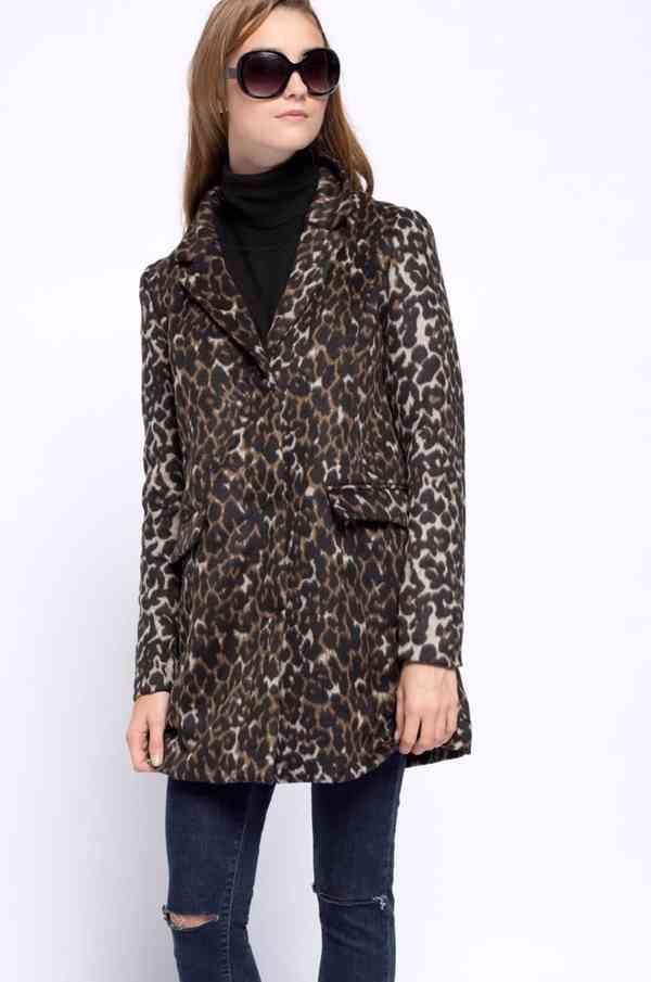 Leopardí kabátek Vero Moda