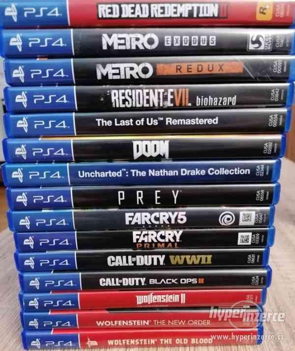 Prodám hry na PS4