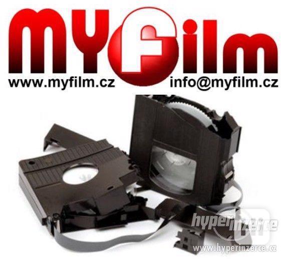 Oprava kazet, lepení filmu,pásků - foto 1