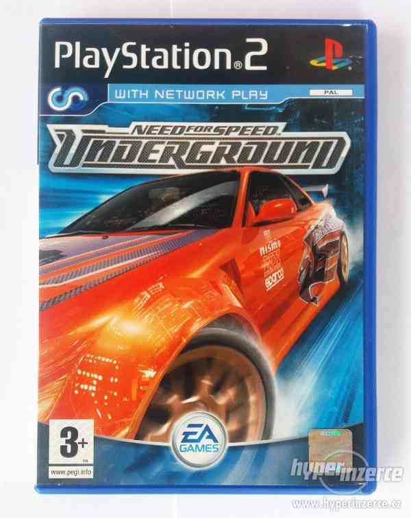 PS2 - Need For Speed Underground