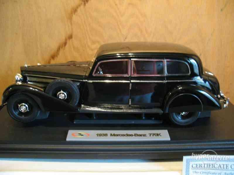 Model 1:18 Mercedes 770K W150 1938 Pullman Rarität - foto 7
