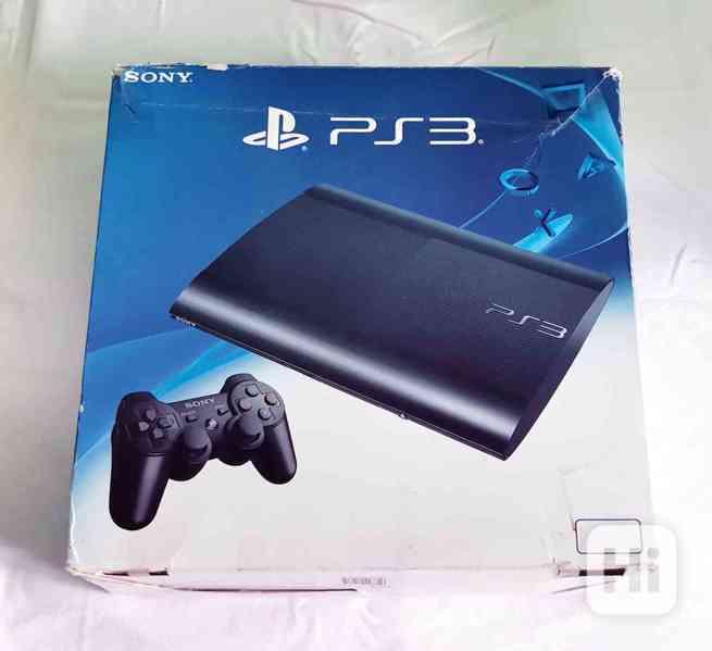Playstation 3 a originální krabice, 500GB