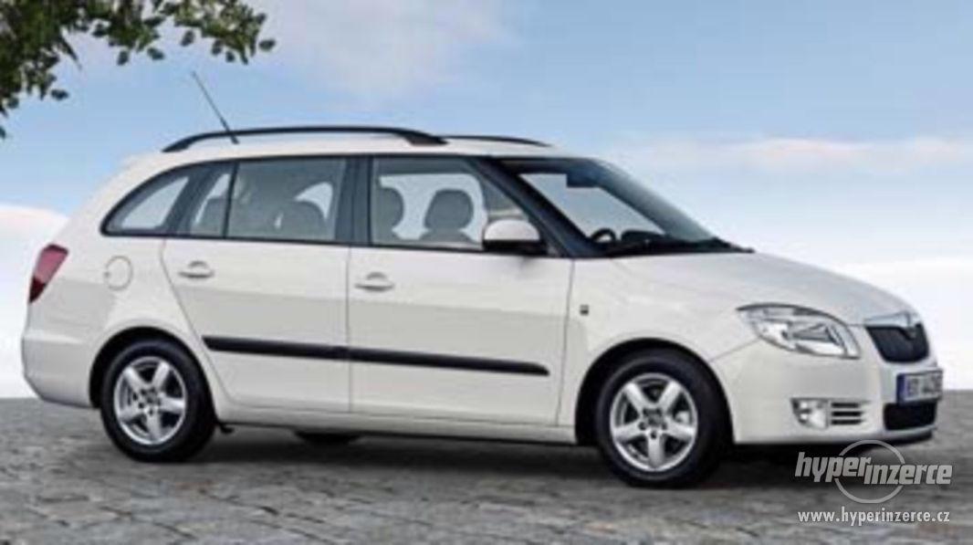 Škoda Fabia II Kombi