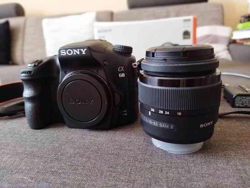 Fotoaparát Sony Alpha 68 +objektiv 18–55 mm - doprava zdarma - foto 8