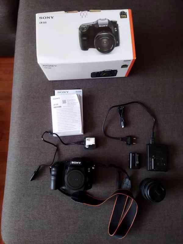 Fotoaparát Sony Alpha 68 +objektiv 18–55 mm - doprava zdarma - foto 4