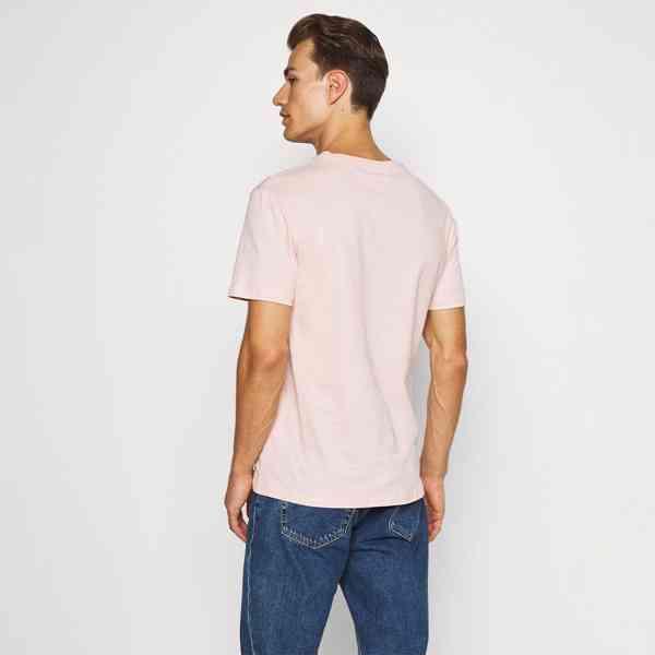 Pier One - Pánské růžové tričko s palmou Velikost: M - foto 4