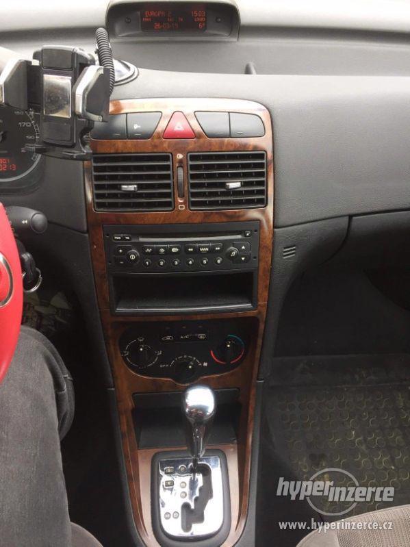 Peugeot 307, 1,6i benzin, AUTOMAT, r. 2002