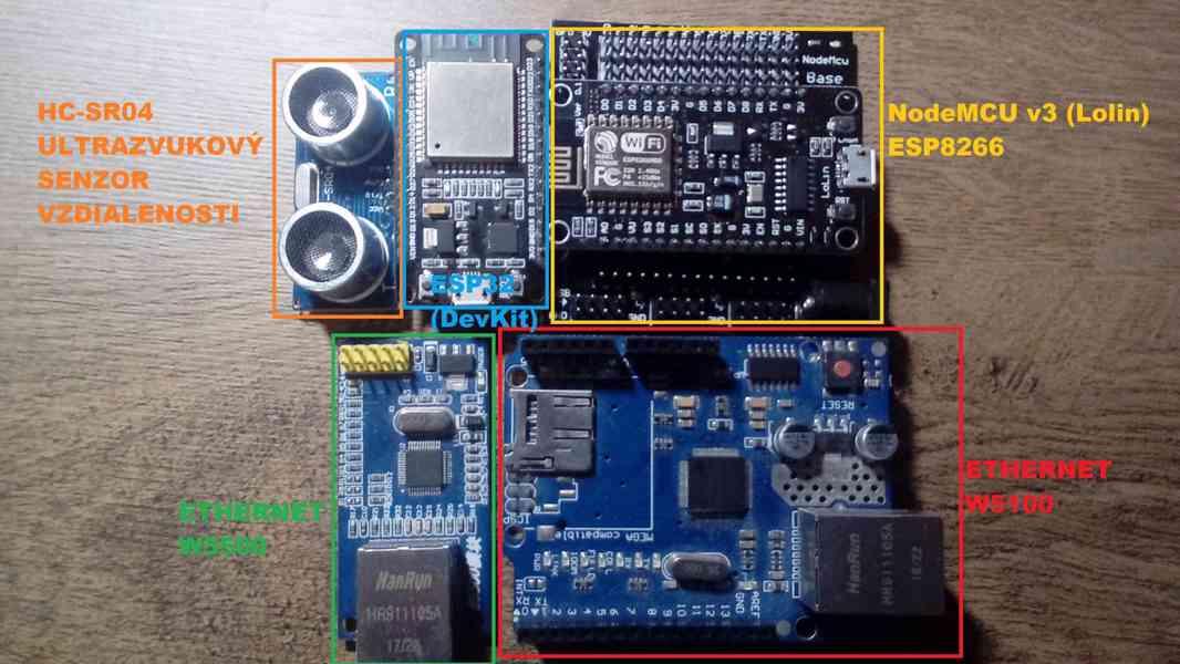 Hladinomer - Monitor výšky hladiny vody - Arduino / ESP8266 / ESP32 / Sigfox - foto 1