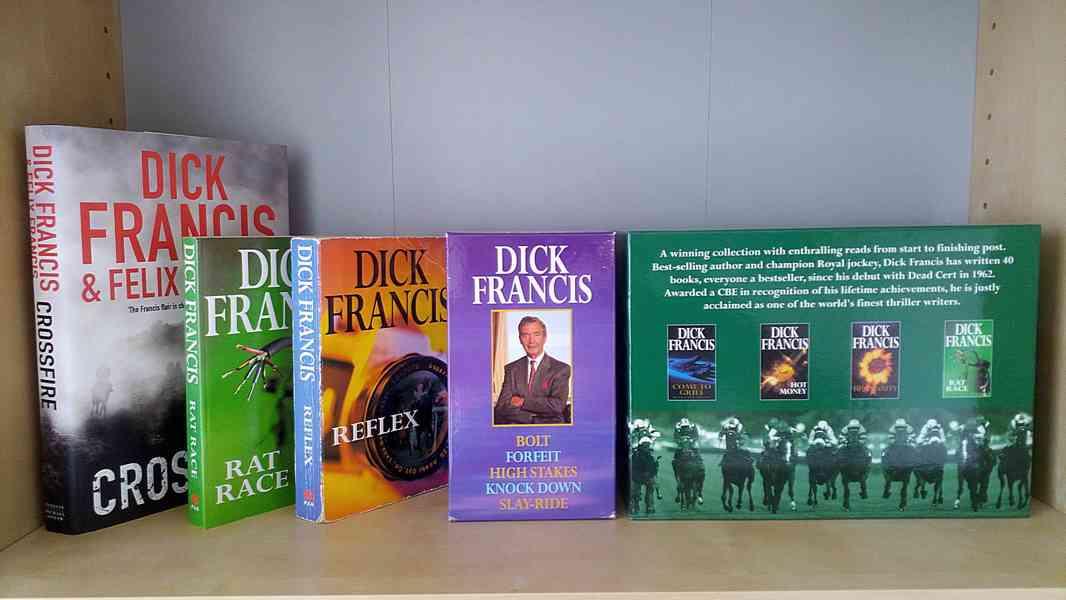 Dick Francis - sada knih v angličtině  - foto 2