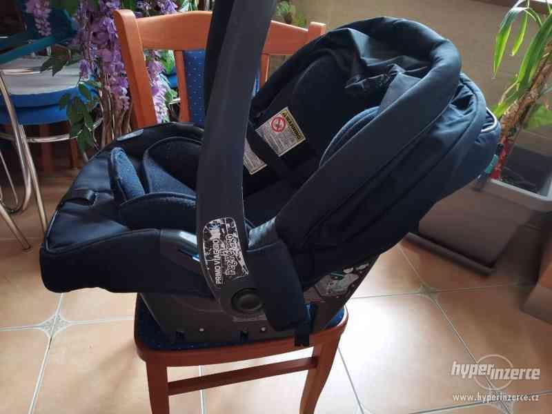 Dětský kocarek dvojkombinace autosedacka