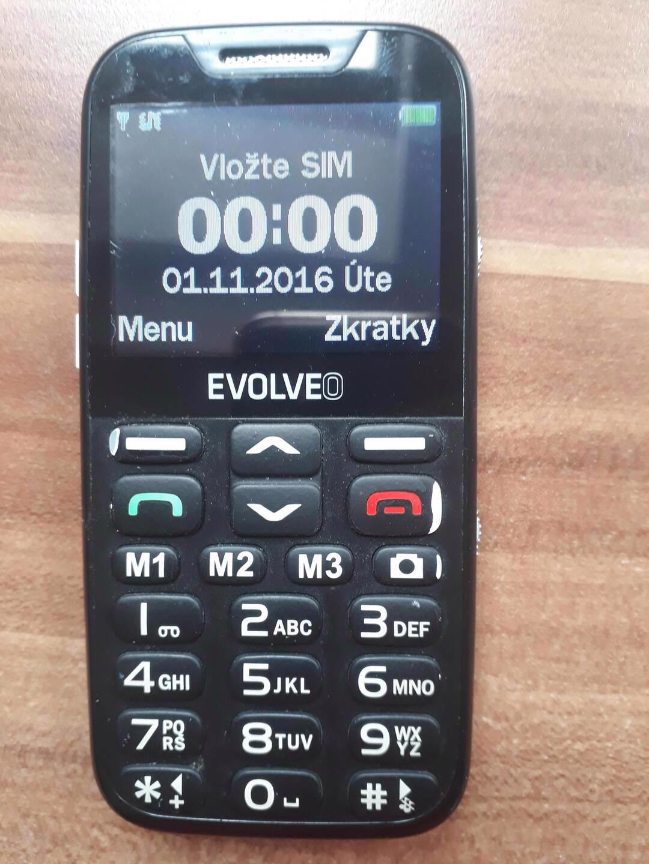 Evolveo EasyPhone XD - seniorský telefon  - foto 1