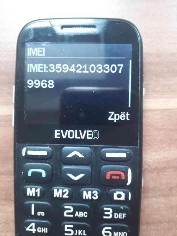 Evolveo EasyPhone XD - seniorský telefon  - foto 5