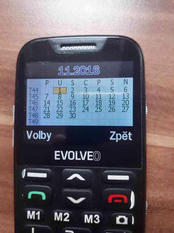 Evolveo EasyPhone XD - seniorský telefon  - foto 4