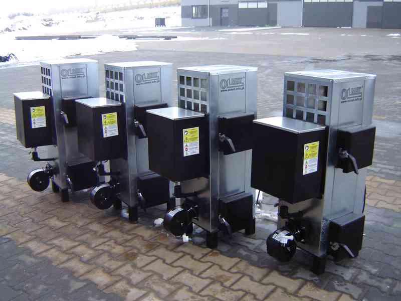 Ohřívač vzduchu NG20 kW do 100 m2 na použitý olej (motorový)