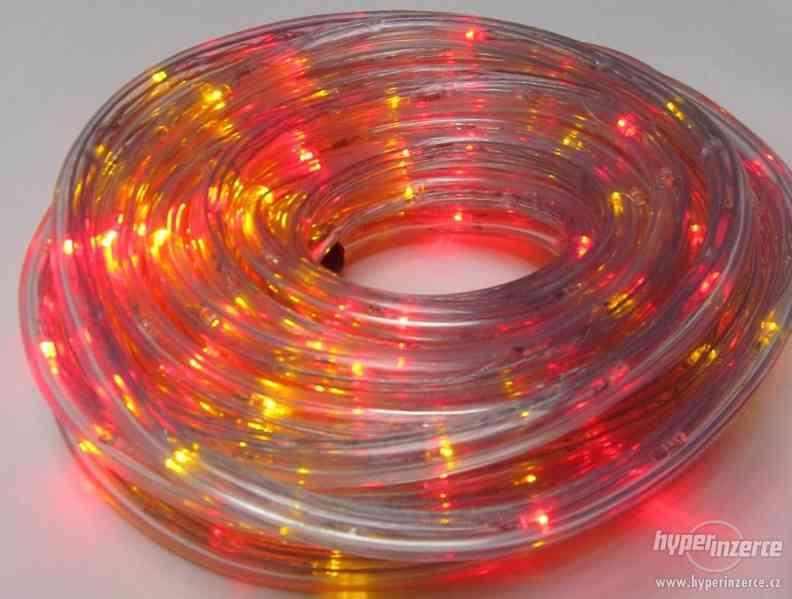 Světelný nejen vánoční had barevný 20 metrů. REÁLNÉ FOTO ,TO - foto 3