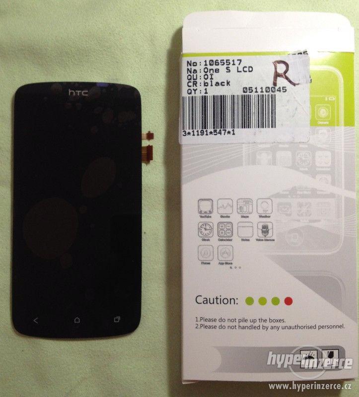 HTC ONE S Z520e LCD displej + Digitizer - foto 1