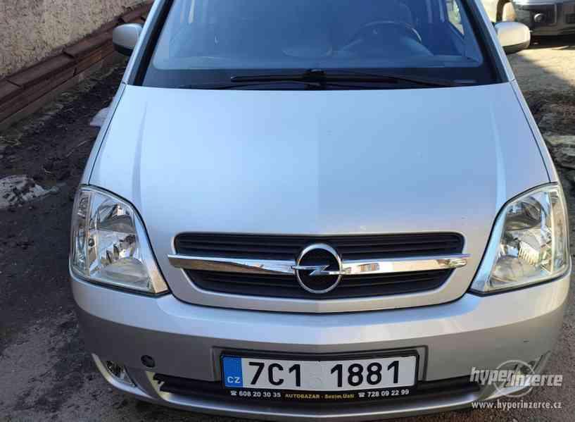 Opel Meriva 1,7DTI - foto 6