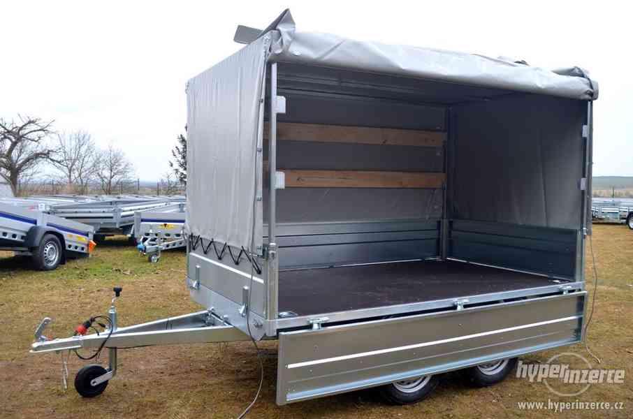 Přívěsný vozík 250x150cm + plachta 150 cm