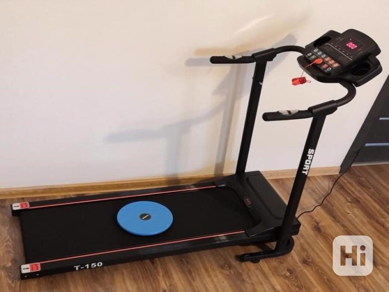 Běžecký pás HRS T-150 (1 HP, do 100kg, do 12km/h) + twister  - foto 1
