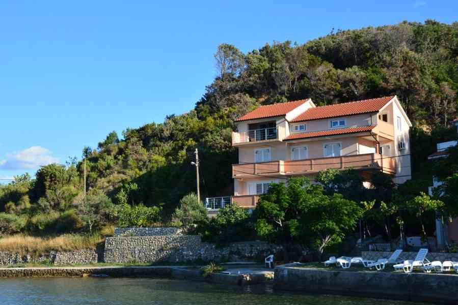 Dovolená na ostrově Rab u moře Chorvatsko Supetarska Draga