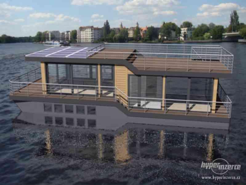 Luxusní houseboat - Calliste