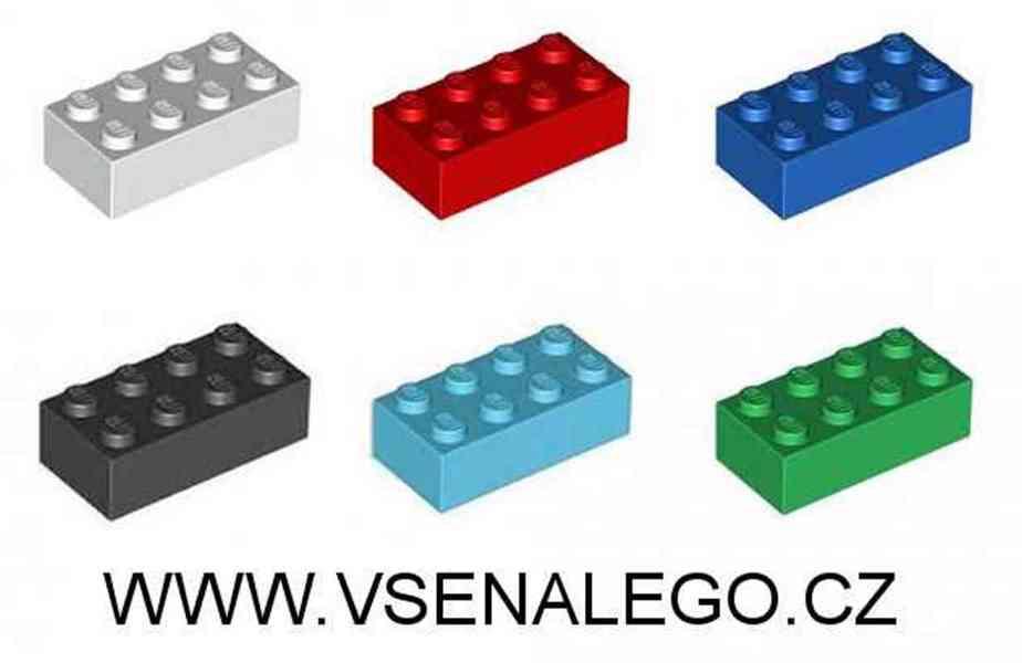Lego - náhradní dílky, dílky na volné stavění