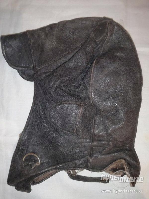 Kožená čepice k veteránu - foto 2