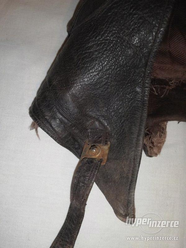 Kožená čepice k veteránu - foto 5