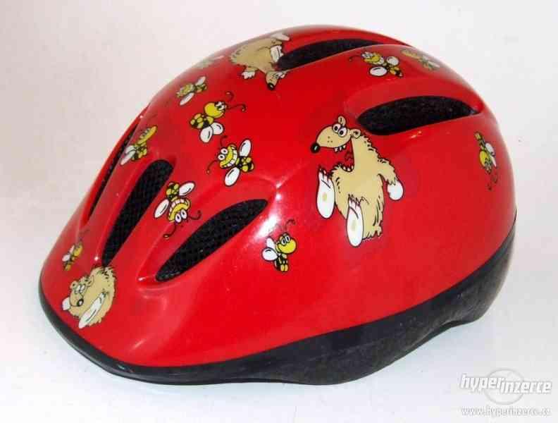 Dětská cyklistická helma ( přilba na kolo ) FX-6, vel. S/M.