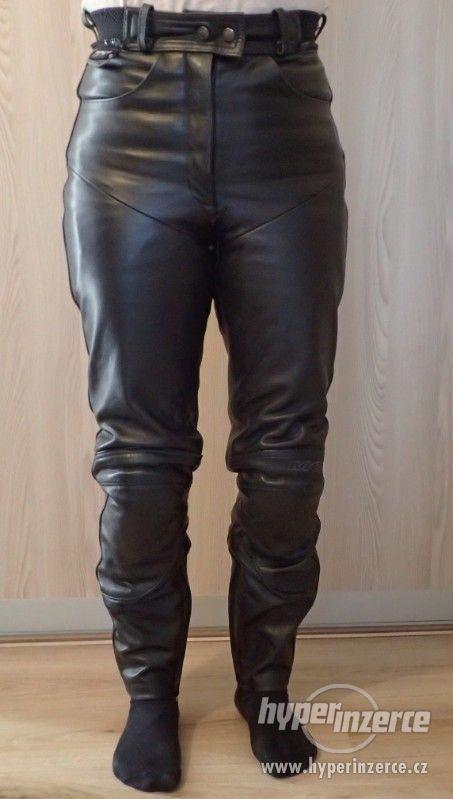 Kožené kalhoty MQP dámské - foto 1